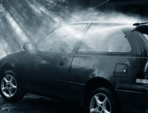 Hot Water Washes Cars Better